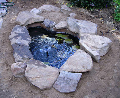 How to build a fish pond Making a pond